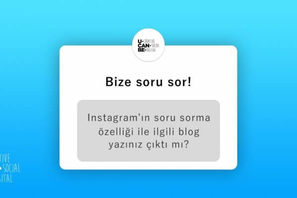 Denendi, onaylandı: Instagram Question Stickers